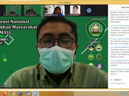Konferensi Nasional Pengabdian Masyarakat Kolaborasi UAA-Unisma